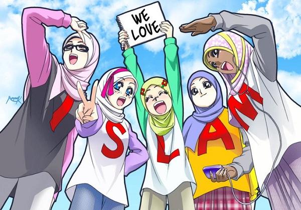 ilustrasi remaja Islam © drise-online.com