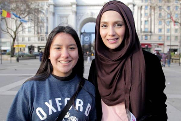 kisah gadis muslimah london