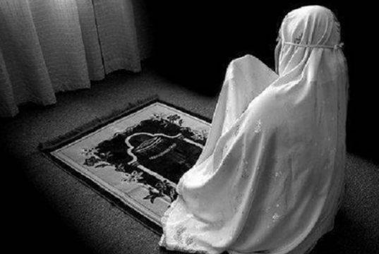 doa sholat dhuha muslimah